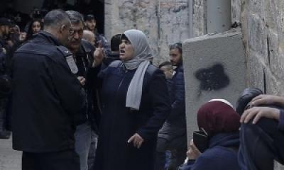 Penjajah Israel Mengambil Paksa Rumah Keluarga Abu 'Ashb