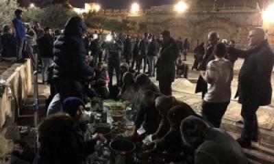 Operasi Jahat Penjajah Israel di Gerbang Masuk Masjid Al-Aqsa
