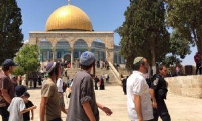 """Gerakan Dukung Al-Aqsha Hadapi Serbuan Kelompok Ekstrimis Yahudi """"Persatuan Haikal Sulaiman"""""""